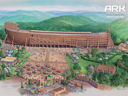 Ark encounter 3 moostash joe tours for Noah s ark kentucky location
