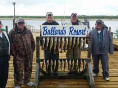 Trophy Walleye Fishing-Spring 2016