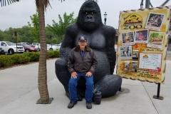 Mr. Cudaback with King Kong