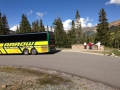 Scenic Stop in the Beautiful Western Slopes of the Rocky Mountains