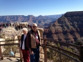 WW2 veteran and his wife taking in one of the wonders of thw world