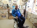 Dale Dykes in Angel's Chair
