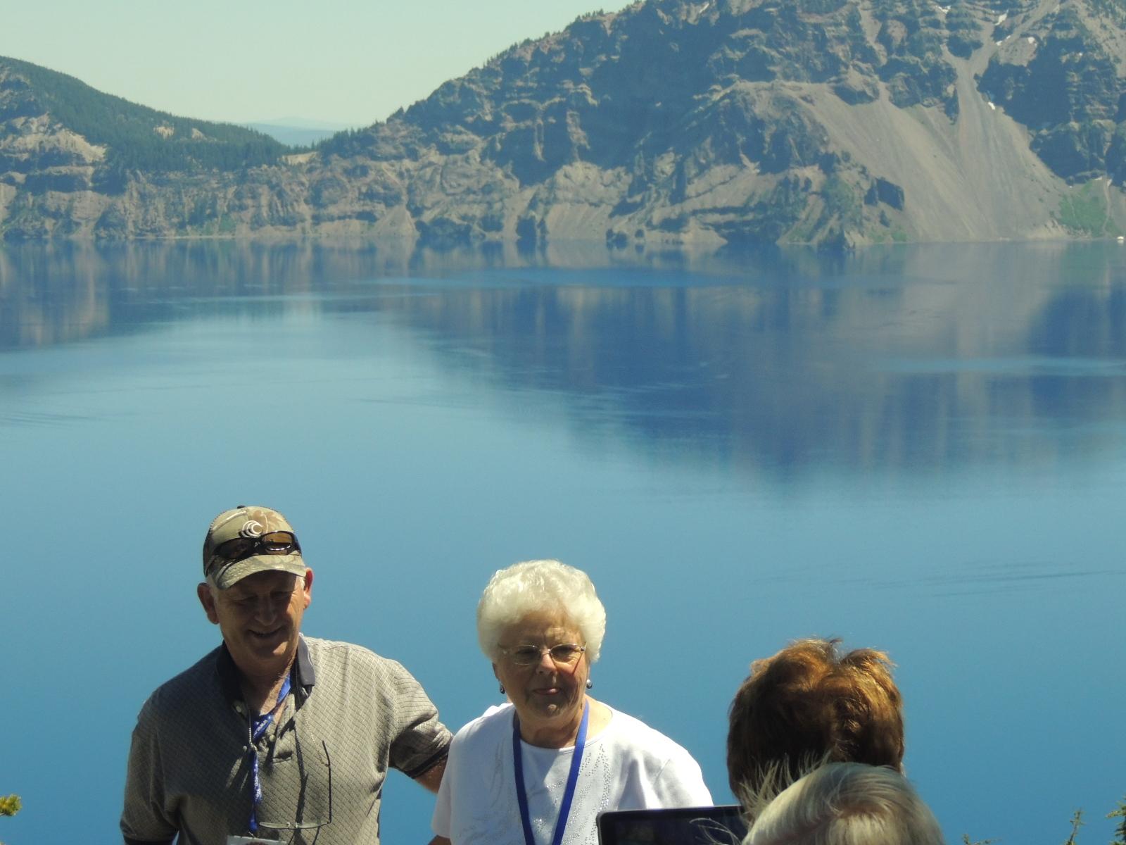 Close Up Crater Lake