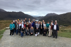 Group Picture at Ladies View on tour from Ireland's Ancient East to the Wild Atlantic Way