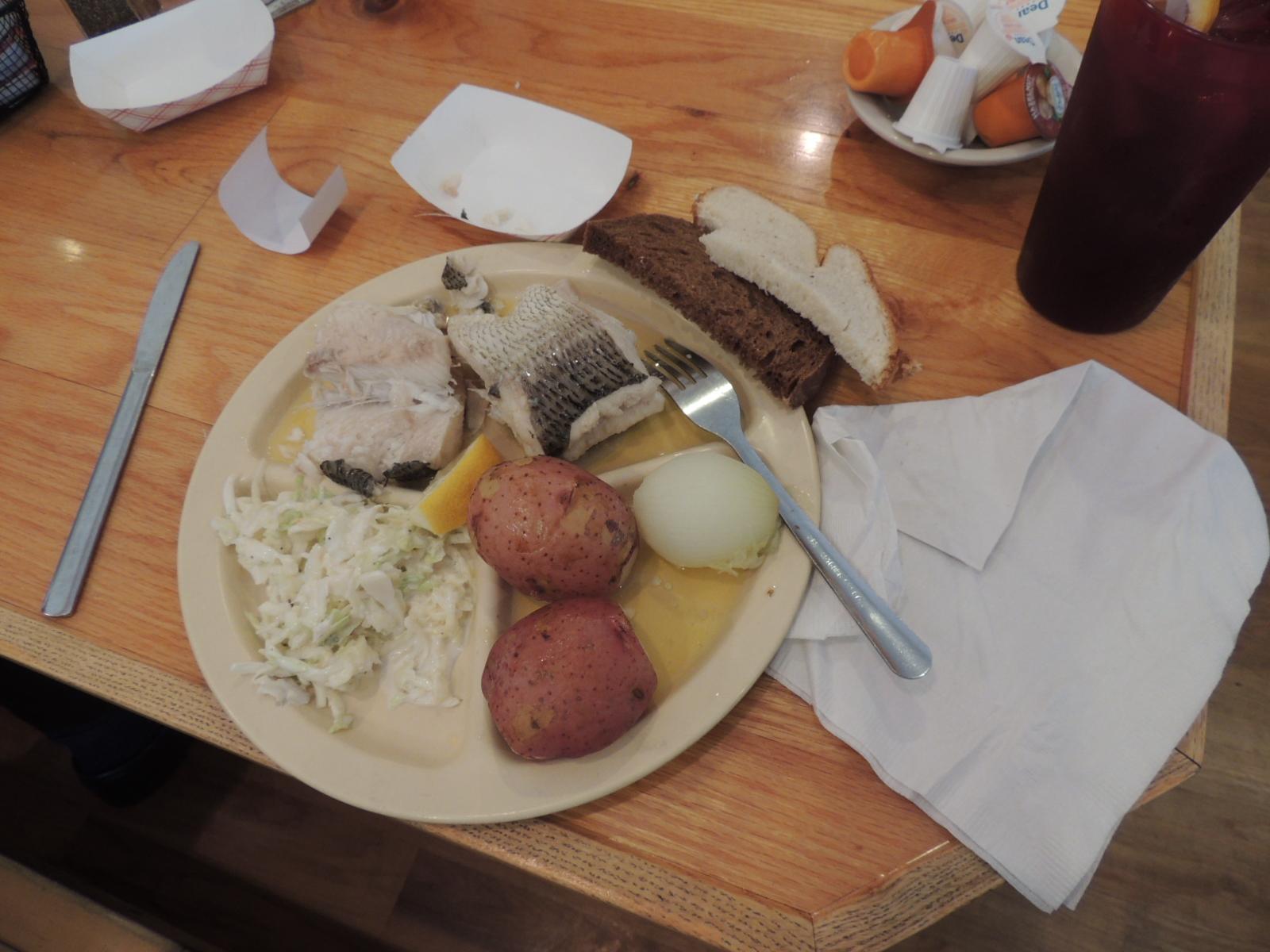 Fish Boil Dinner