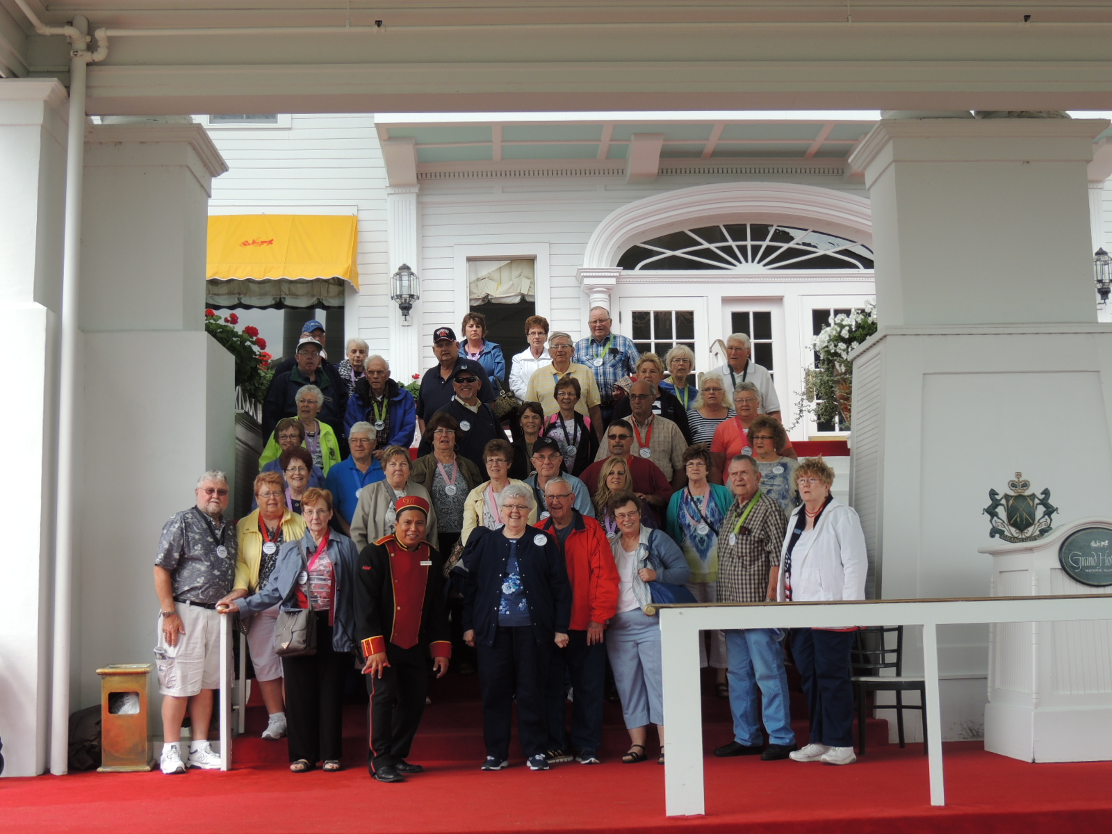 Group @ the Grand Hotel