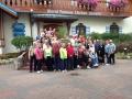 Mackinac Island Pink Bus 2013