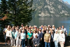 Tetons Group Picture