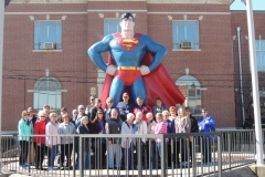 Group with Superman