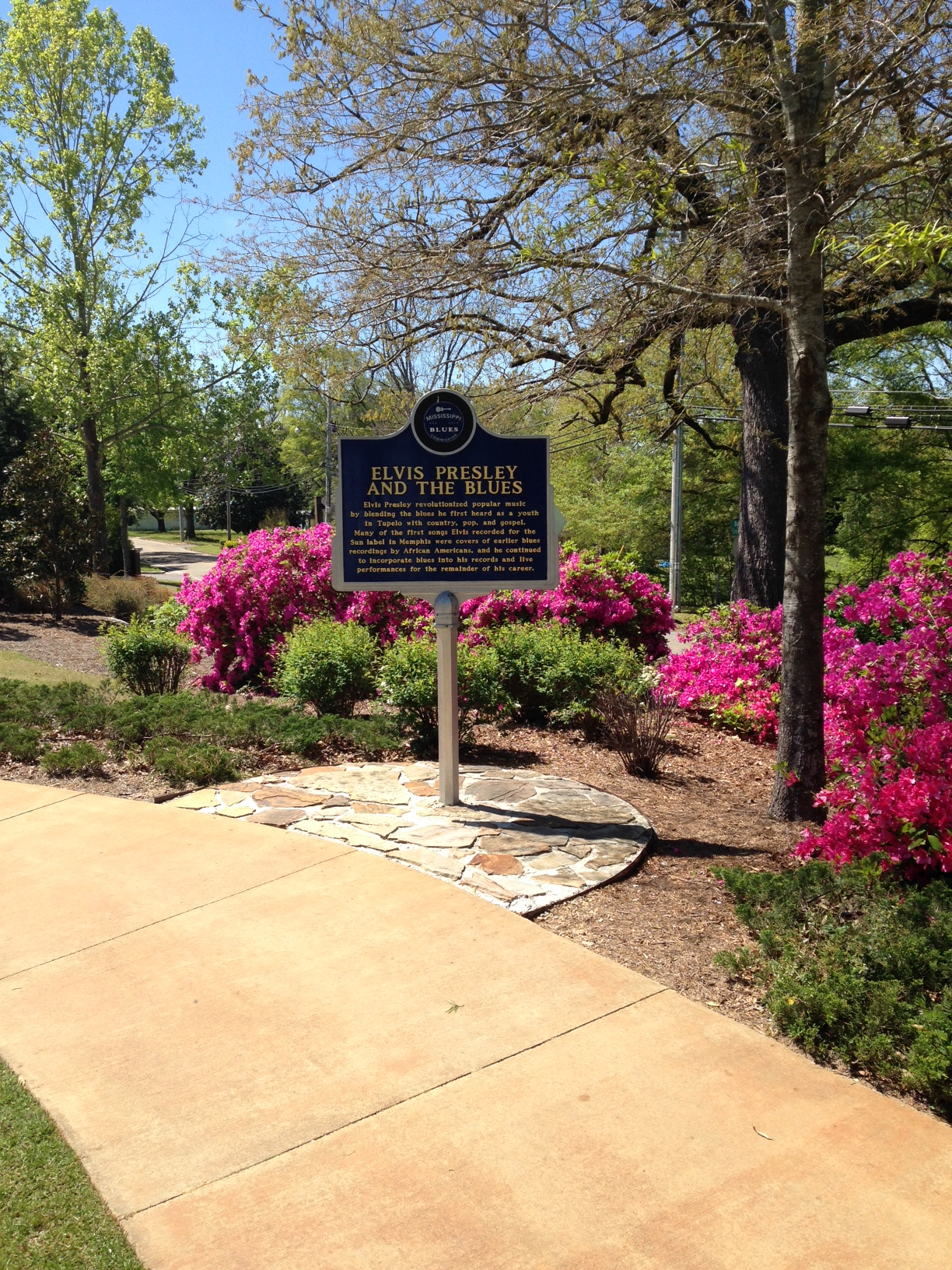 Elvis Birthplace and Flowers