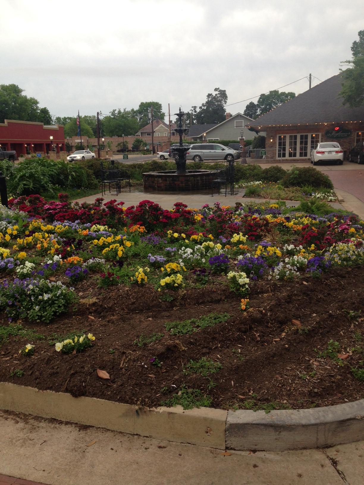 Flower Garden Downtown Natchitoches