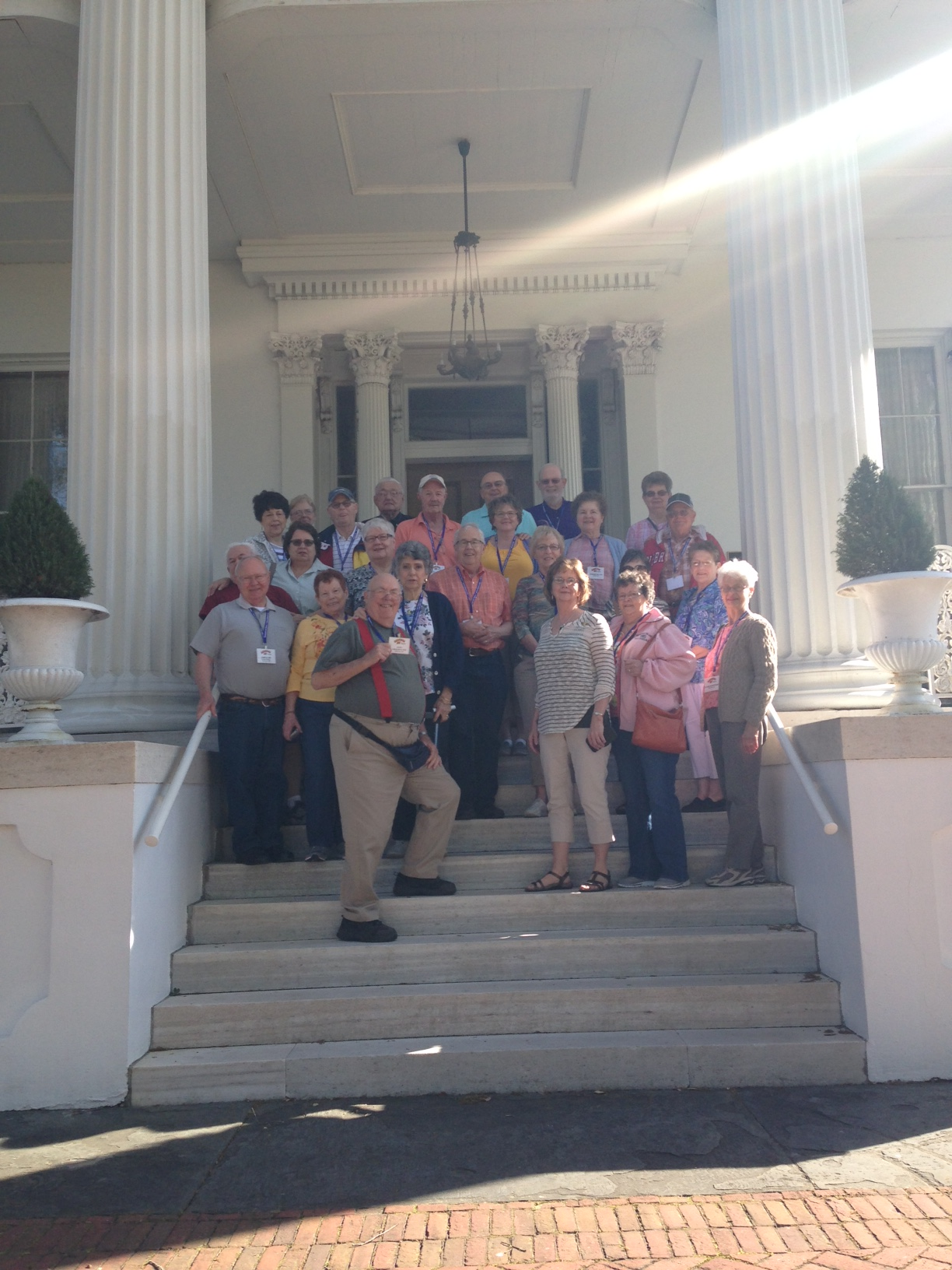 Group Picture at Stanton Hall