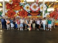 Group Picture in Mardi Gras World!