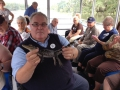 The swap tour produced some fun with alligators!  Just ask our driver John Kriens!