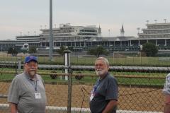 Jim & Gar @ the Track