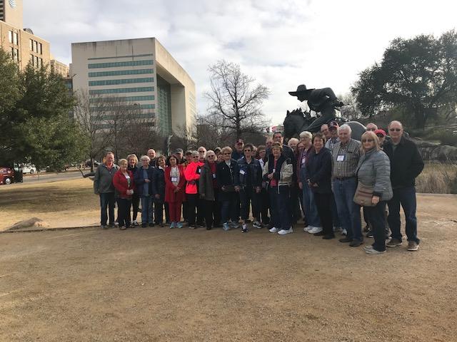 Group at OKC Memorial