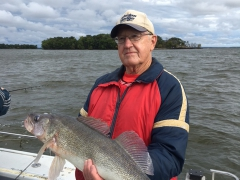 Trophy Walleye Fishing - September 2016