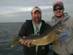 Walleye Fishing Tour - September 2015