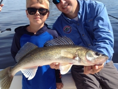 Walleye Fishing Trip May 2014