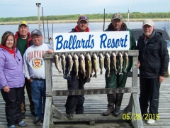 Walleye Fishing Trip May 2015