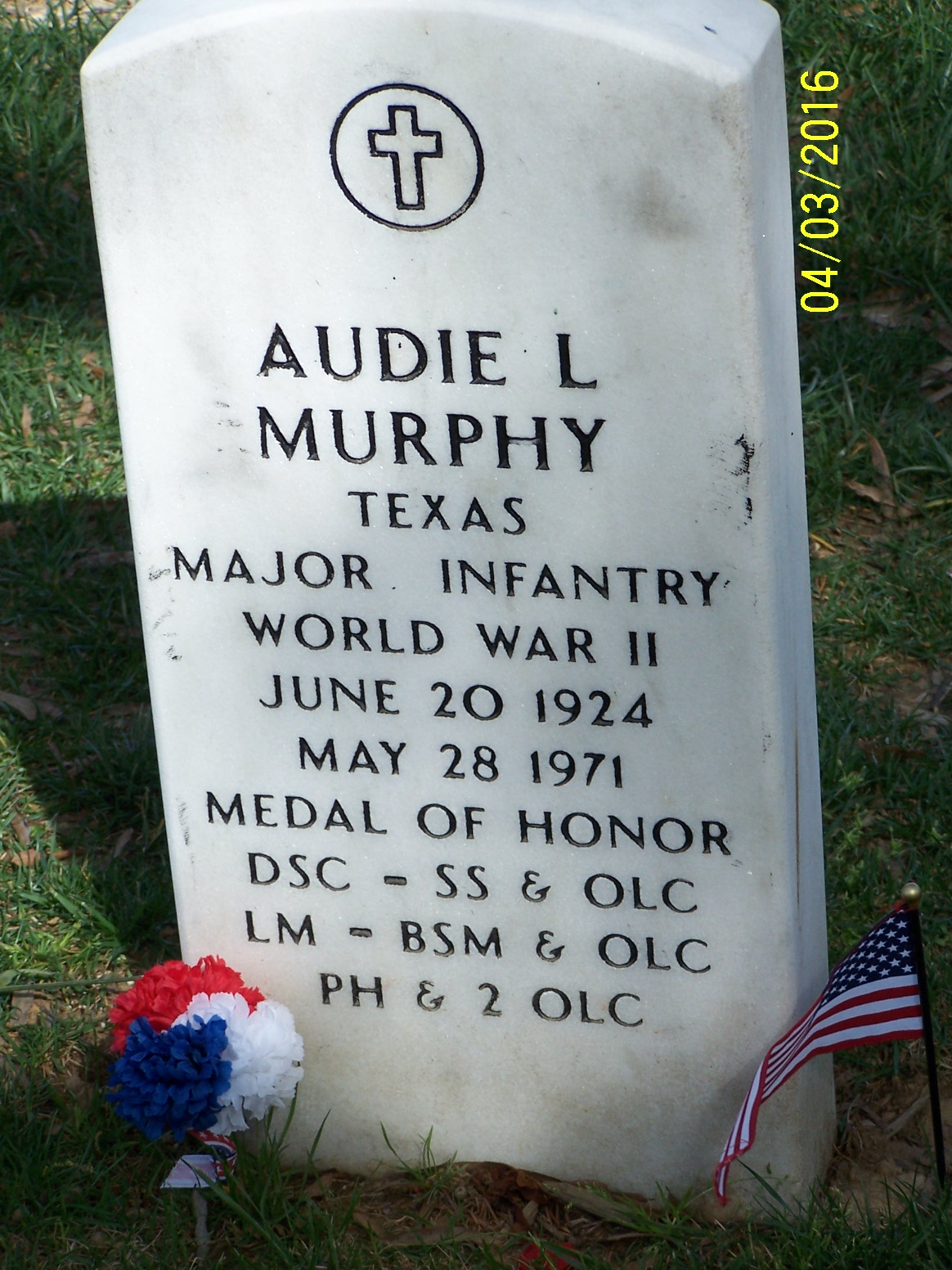 Audie Murphy ms